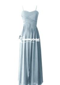 Dusty Blue Bridesmaid Dresses style #AF101 - WeddingOutlet ...