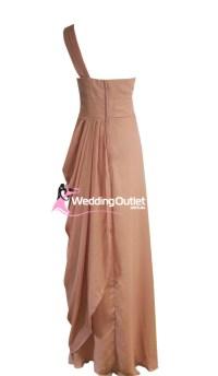 Tan Bridesmaid Dresses Style #C101 - WeddingOutlet.com.au