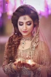 pakistani engagement makeup weddingpace