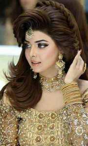 pakistani engagement hairstyles