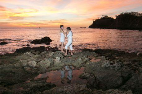 Flamingo Wedding Photography in Costa Rica by John Williamson Photography