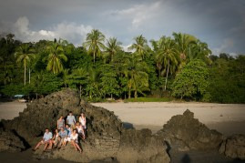 Family Portraits in Manuel Antonio Costa Rica by John Williamson Photography