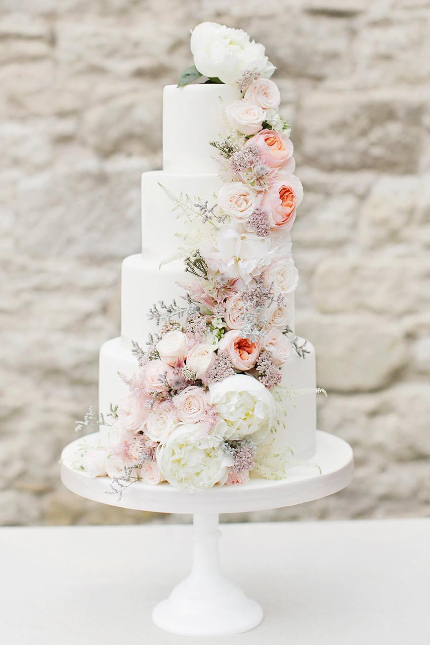 9 Beautiful Wedding Cake Ideas In 2018 Weddingplannercouk
