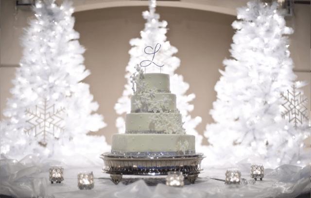 Winter Wedding Cake Ideas