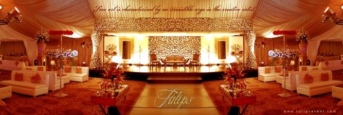 How To Plan Best Wedding Reception Stage Decoration Setup