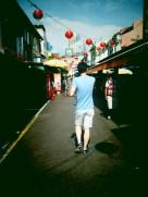 At Chinatown.