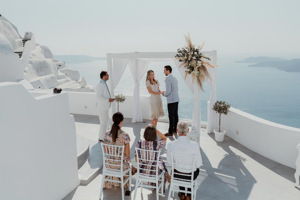 Santa Irini Chapel Wedding Venue  Santorini Wedding Venues  Locations