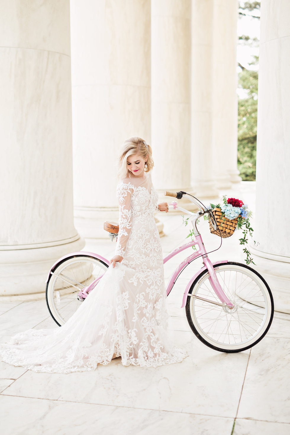 Washington DC Wedding Photographer Jefferson Memorial
