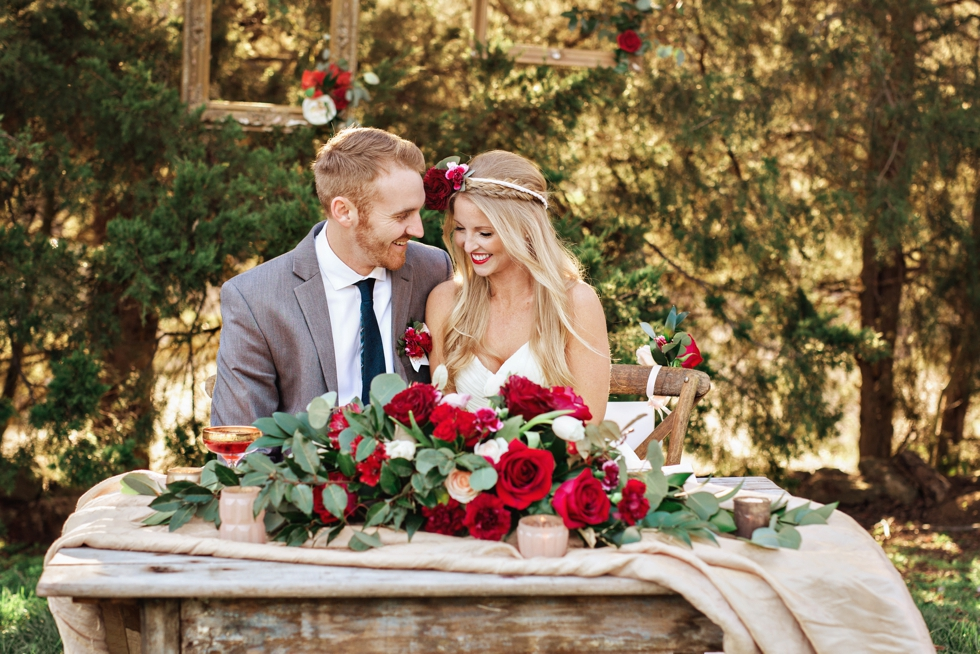 Cedarwood Wedding in Nashville | Valentine's Styled Shoot