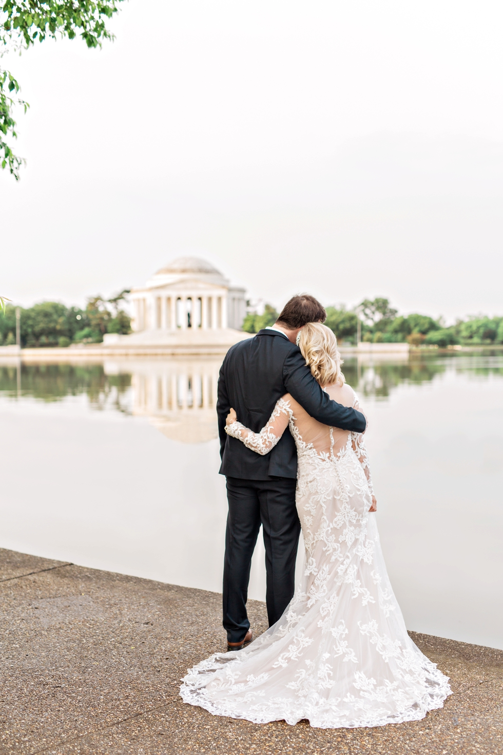 Elopement at the Jefferson Memorial Washington DC