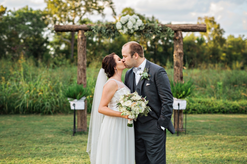 Greenhouse Wedding at Long Hollow Gardens Nashville Tennessee