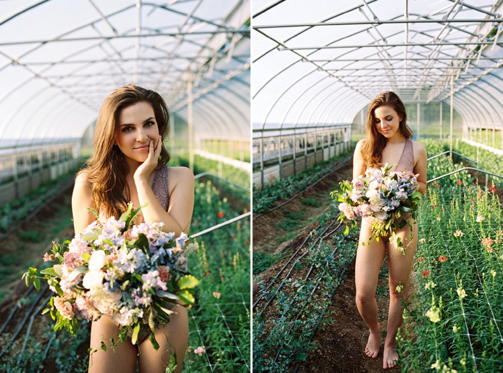 Greenhouse Nashville Boudoir Photographer