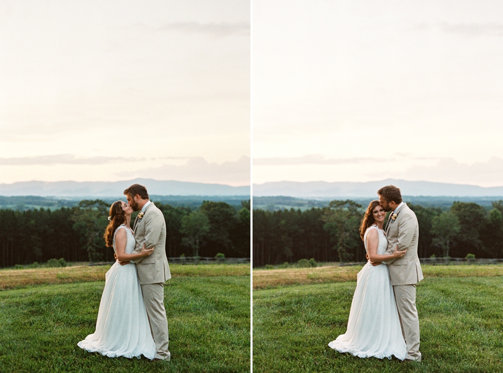 Wedding in North Carolina Mountains