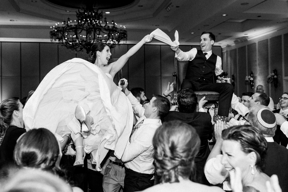 Jewish Wedding Hora Nashville Wedding Photographer