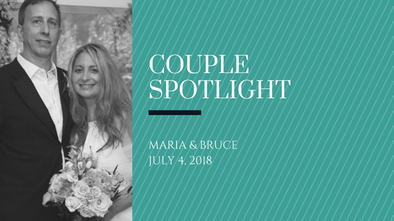 Couple Spotlight: Surprise Wedding on the Fourth of July
