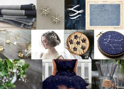 Constellation Themed Wedding Via Snippet & Ink