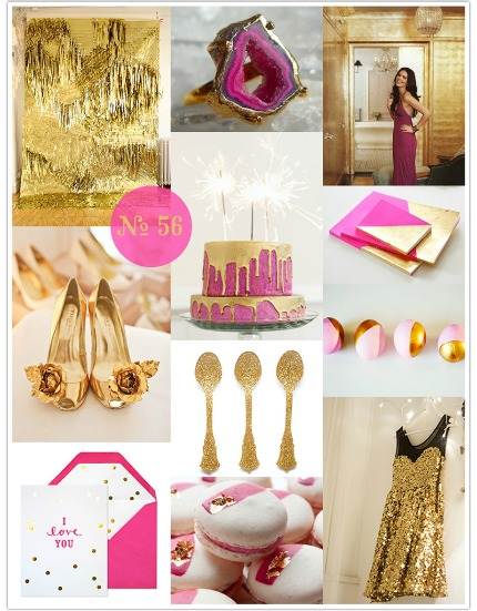 Gold Rush Mood Board via Limn & Lovely