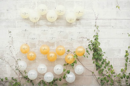 Garden Styled Wedding Inspiration Shoot via Green Wedding Shoes