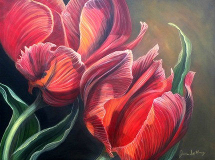Joanne Massey Ruby Tulips