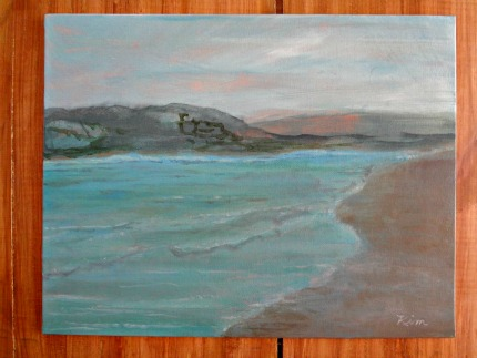 Michael's Painting Class Seascape