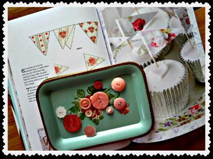 Tinkered Treasures Cupcake Flags & Bunting