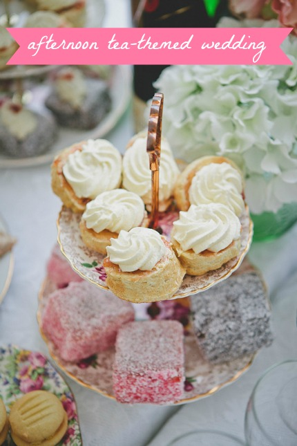 Afternoon Tea-Themed Wedding