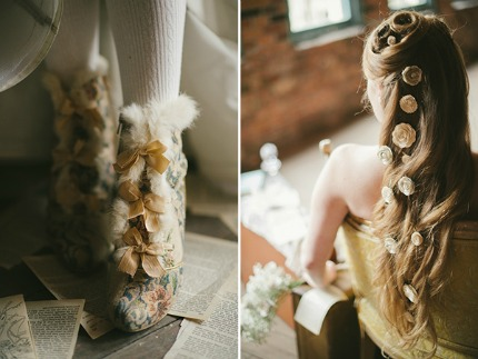 Book-Themed Wedding Portrait Session