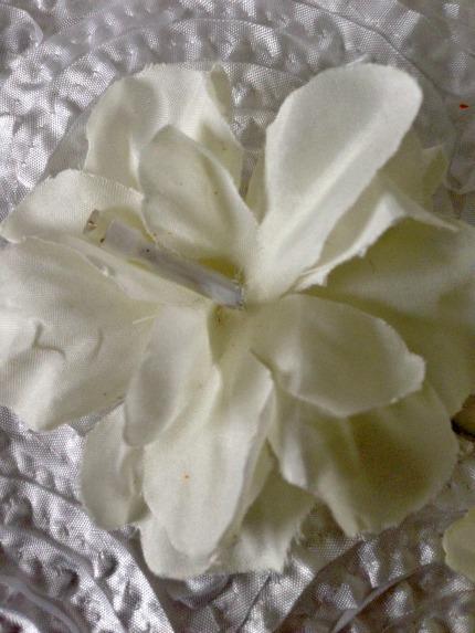 David Tutera Silk Flower on Lighted Branch