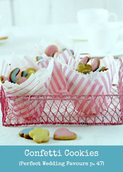 Confetti Cookies Perfect Wedding Favours p. 47