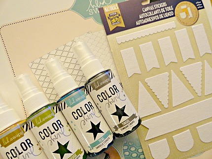 Heidi Swapp Color Shine on Canvas Stickers