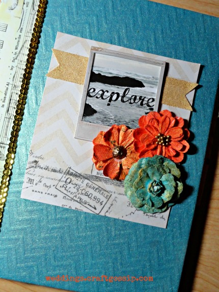 Mixed-Media Travel Journal weddings.craftgossip.com