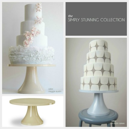 Simply Stunning Cake Stands from Sarah Stands