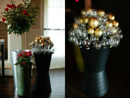 DIY LIghtbulb Topiaries via ruffledblog.com