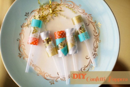 DIY Sequin Confetti Poppers via Oh Lovely Day