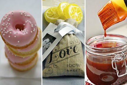 Edible Wedding Favor Ideas via weddingstar
