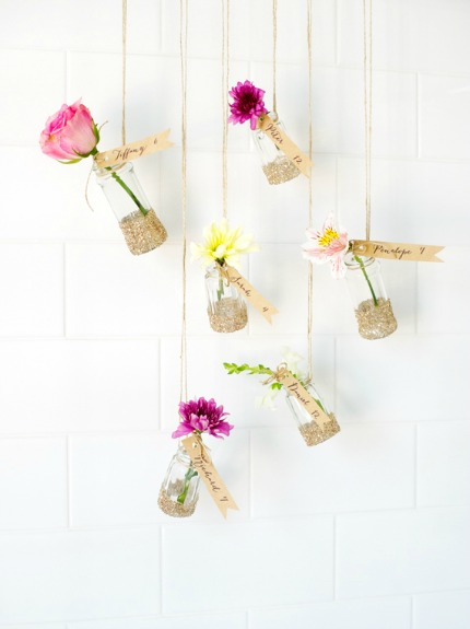 Hanging Garden Escort Cards via minted.com