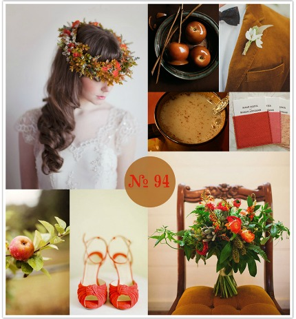 Caramel Apple Wedding Inspiration via Limn and Lovely