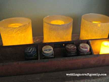 Target Wedding LED Candles and Glass Holders weddings.craftgossip.com