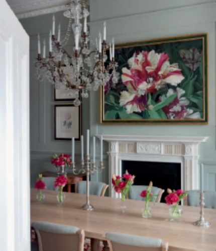 Nina Campbell Interiors A London Country House Dining Room