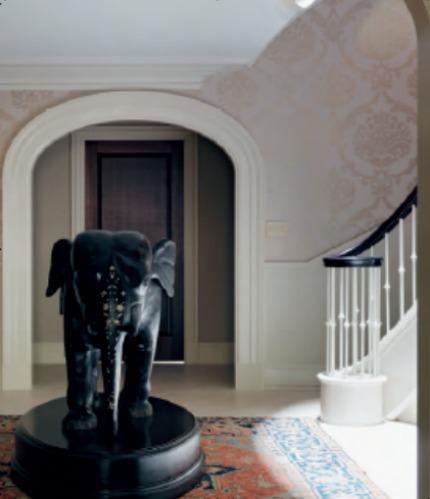 Nina Campbell Interiors Memories of 19th Century New York Elephant