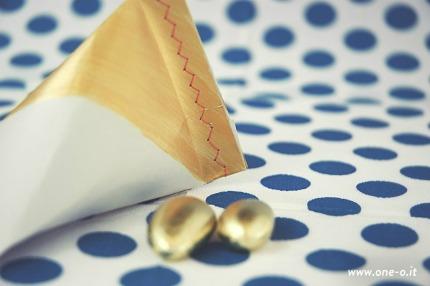 DIY Gold Wedding Favors via One O