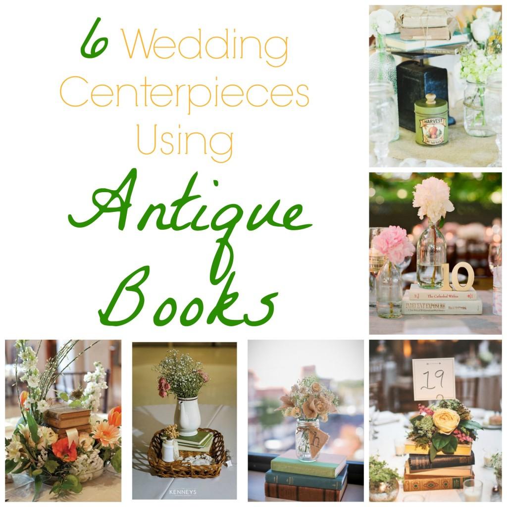 Fantastic Book Centerpieces Wedding Festooning - The Wedding Ideas ...