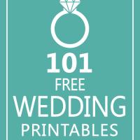 Huge List of FREE Wedding Printables