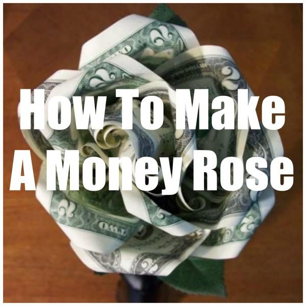 Money Rose Tutorial Diy Weddings
