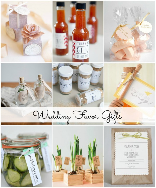 Easy Wedding Gift Ideas: Easy And Classy DIY Wedding Favor Gifts