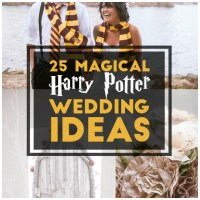 25 Magical Ways To Show Your Love Of All Things Potter At Your Wedding