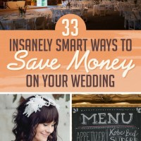33 Smart Ways You Can Save Money On Your Wedding