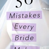 Don't Make These Mistakes When Your Wedding Day Comes Around