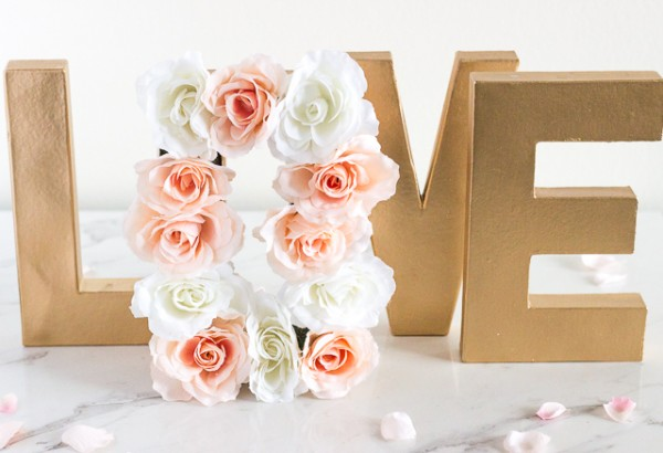 Paper mache floral centerpiece letters diy weddings paper mache flowers are kind of a big deal right now not just in the crafting and party world but in weddings as well now i know what you might be mightylinksfo
