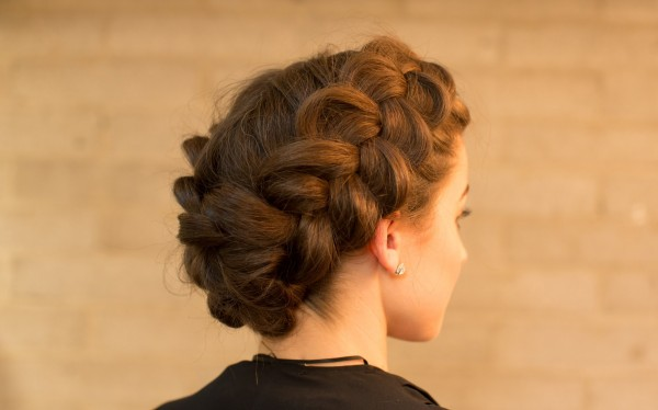 DIY Wedding Hairstyle Double Dutch Braid